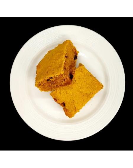 Pecan Chocolate Pumpkin Spice Blondies