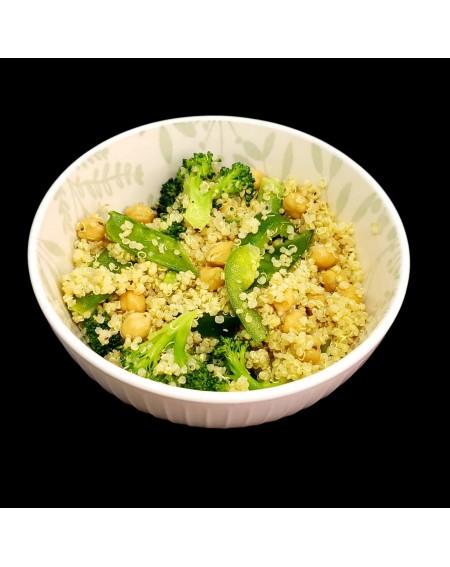 Quinoa Vegetables And Beans Salad Vegan Pre Made Meals